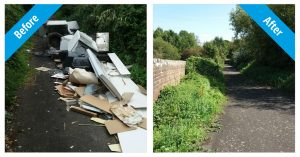 17 Fly Tippers Prosecuted