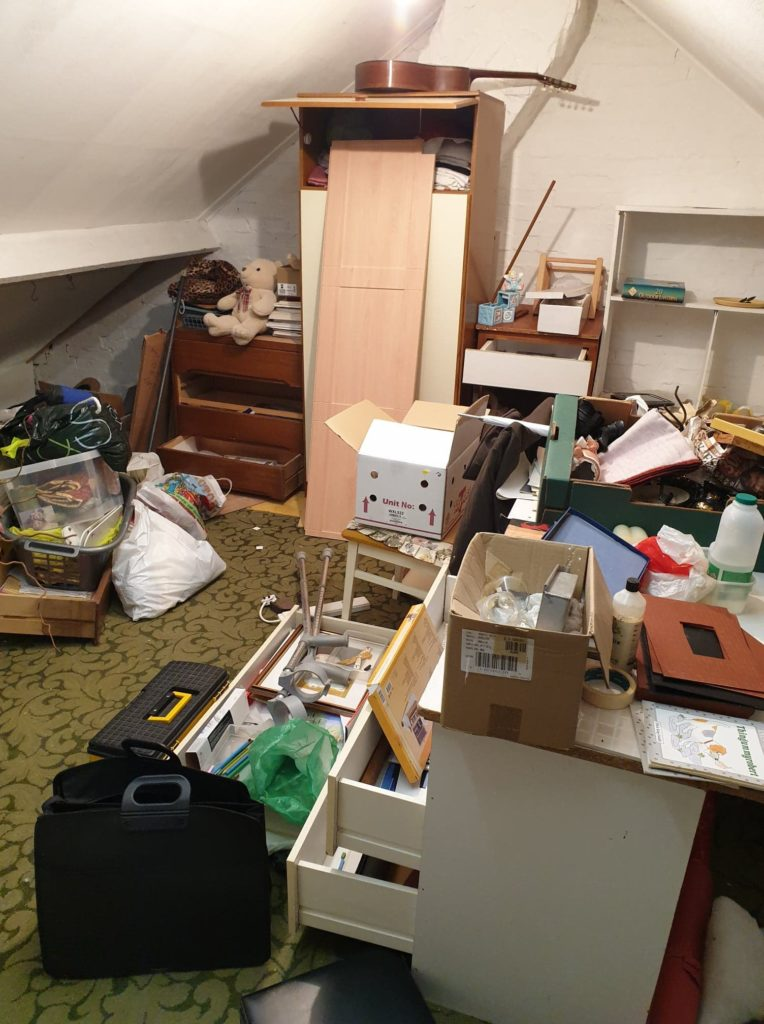 4 bedroom house clearance before